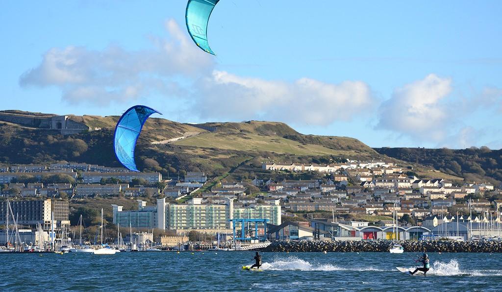 Kiteboard at Weymouth