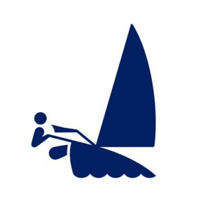 Sailing Tokyo Games pictogram