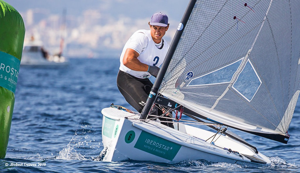 Finns In Palma Andy Maloney Powers Into Lead Sailweb