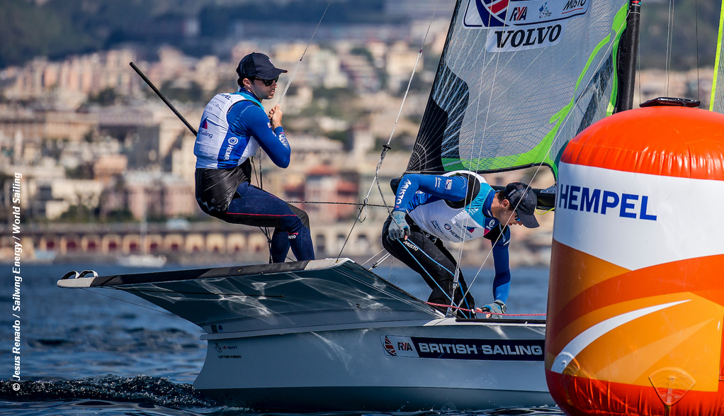 World Cup Series Genoa – Brits chase Medal Race podium places