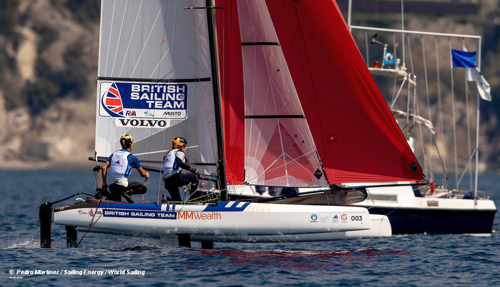 World Cup Series Genoa – Saxton and Boniface pipped for gold