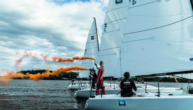 Olympic Offshore Racing format tested with Melges 24 and on-board media