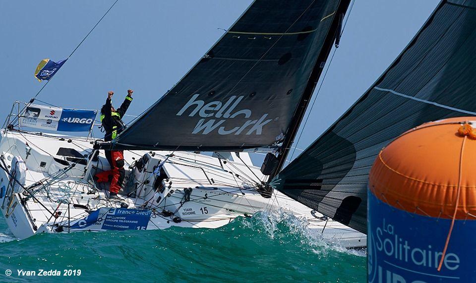 Yoann Richomme wins La Solitaire URGO Le Figaro