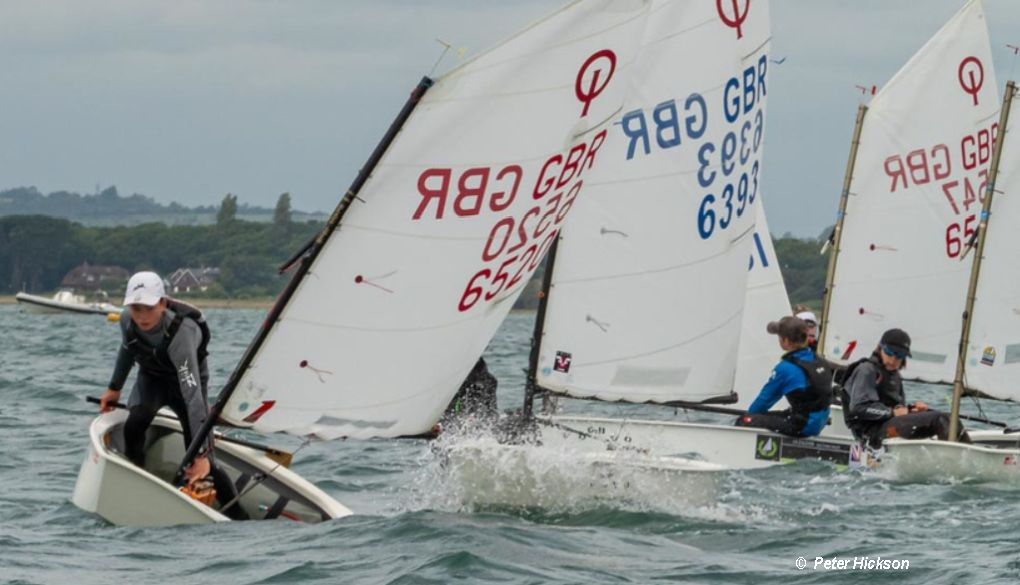Optimist Open at Hayling Island – Day 1 – Sailweb