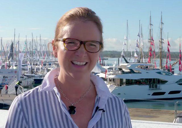Sarah Treseder of the Royal Yachting Association