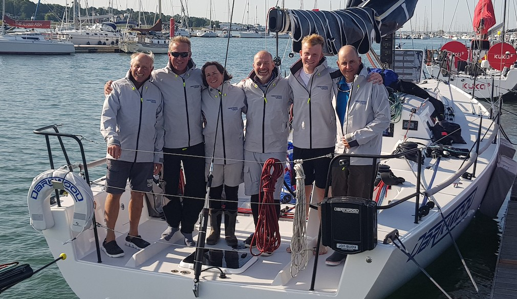 Darkwood Triumph in RORC Channel Race