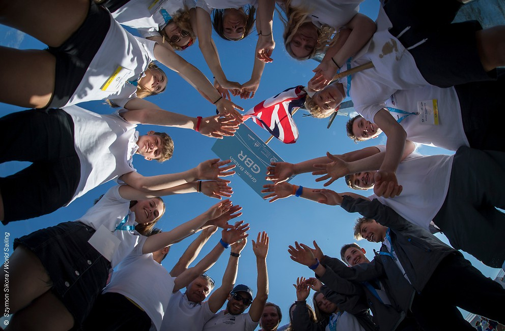 Beach party opens Hempel Youth Sailing World Championships