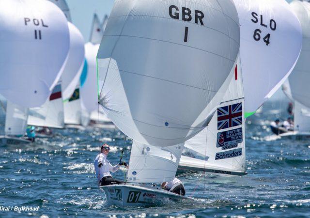 470 GBR Olympic pair