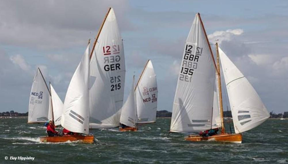 British pair are 12 Sq.M Sharpie European Champions