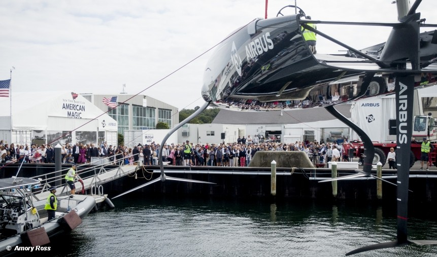 American Magic AC75 – Defiant is officially launched