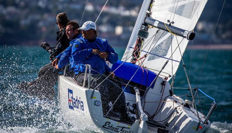 J/70 World Championships – Enfant Terrible leads Open Class