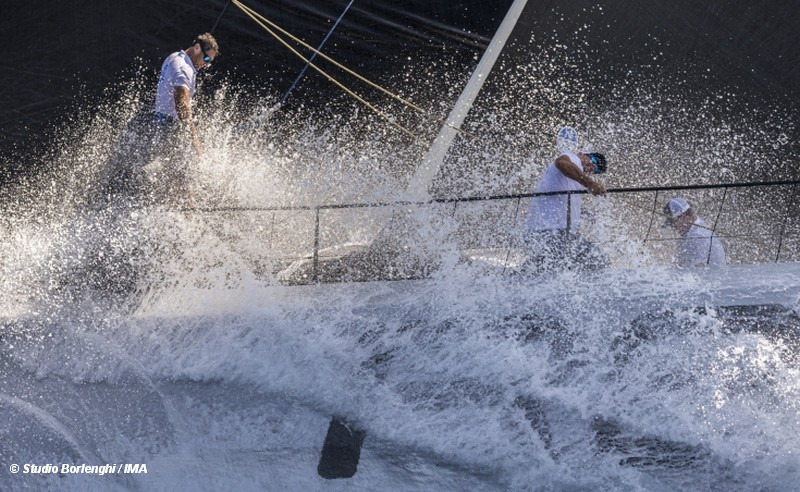 Beginner's luck for Vesper at 30th Maxi Yacht Rolex Cup