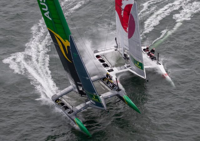 SailGP AUS and JPN