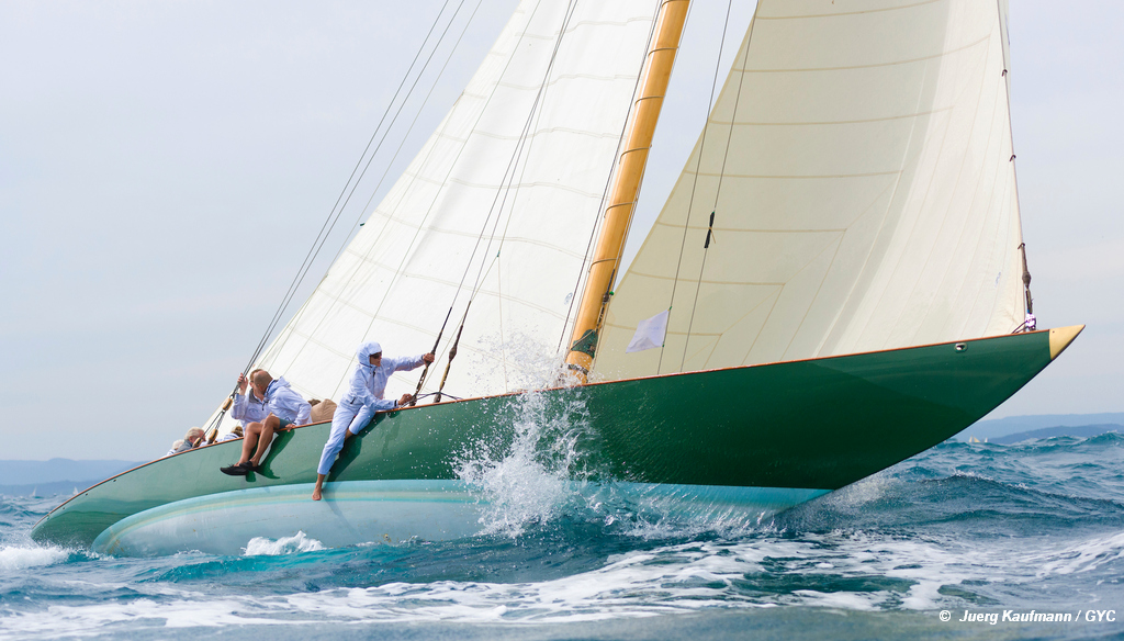 9th Gstaad YC Centenary Trophy, ready to go