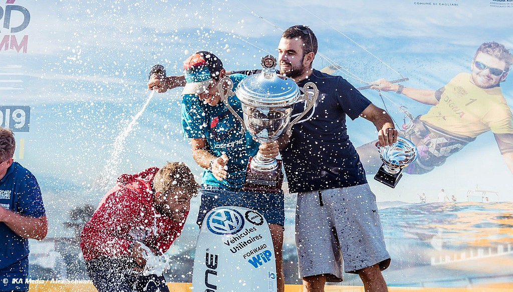 Kitefoil World Series titles decided in Cagliari