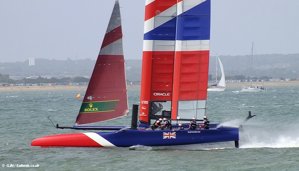 INEOS + SailGP . . . Are they serious!
