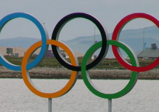 Olympic Rings Weymouth 2012