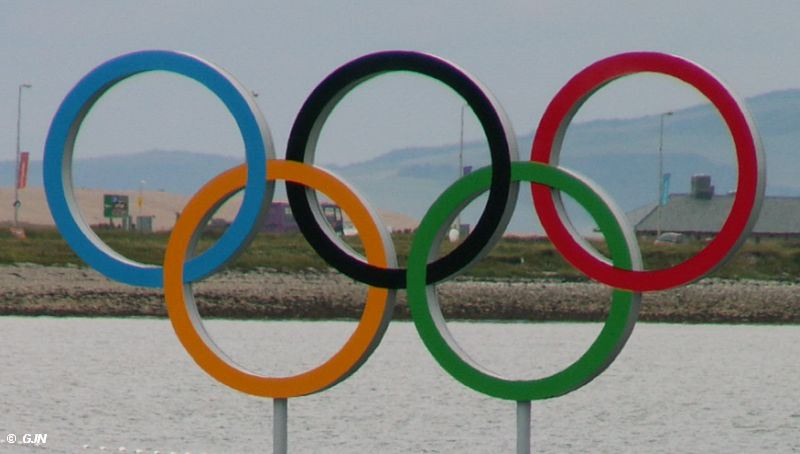 Olympic Rings Weymouth 2012