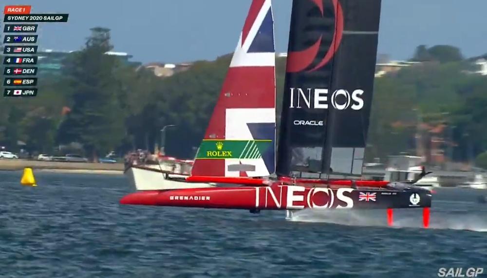 SailGP Sydney GBR