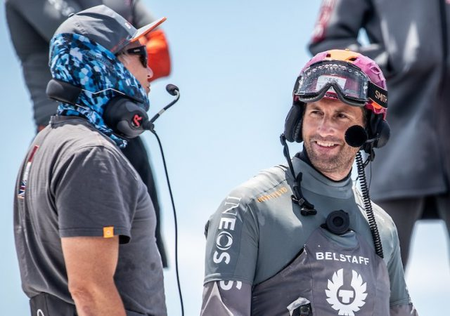 Ben Ainslie on return of Britannia to water in Auckland