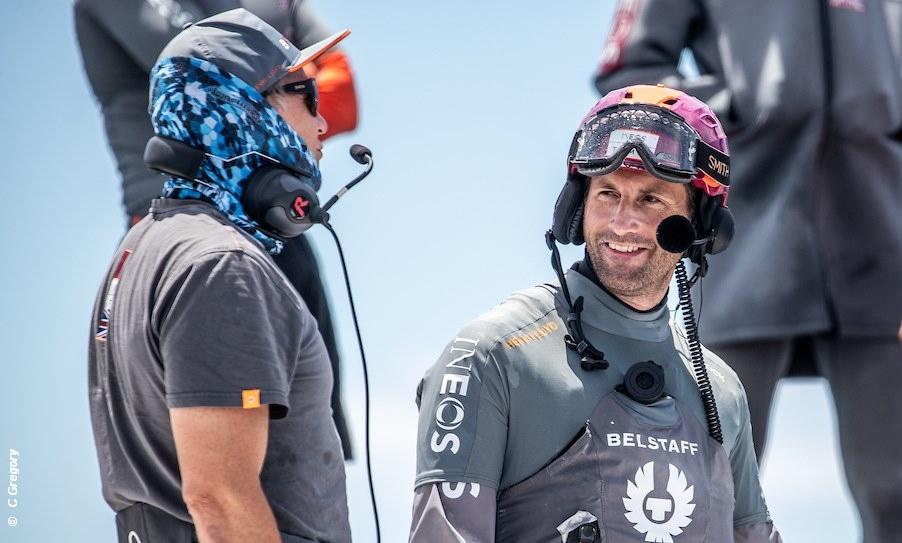 Ben Ainslie on return of Britannia to water in Auckland