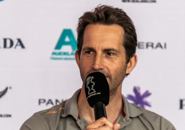 Sir Ben Ainslie at Prada Cup 2021