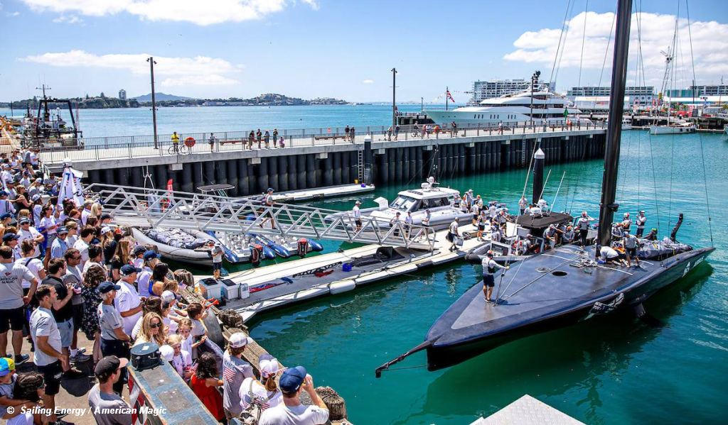 AC36 Patriot relaunched
