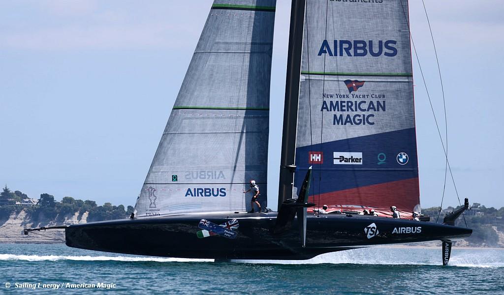 AC36 Patriot Sails Again