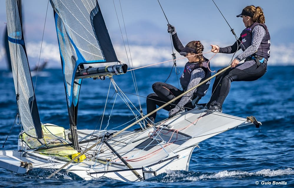 Lanzarote Olympic Winter Regatta completes 470 and 49er events