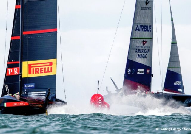 Prada Cup Luna Rossa v American Magic