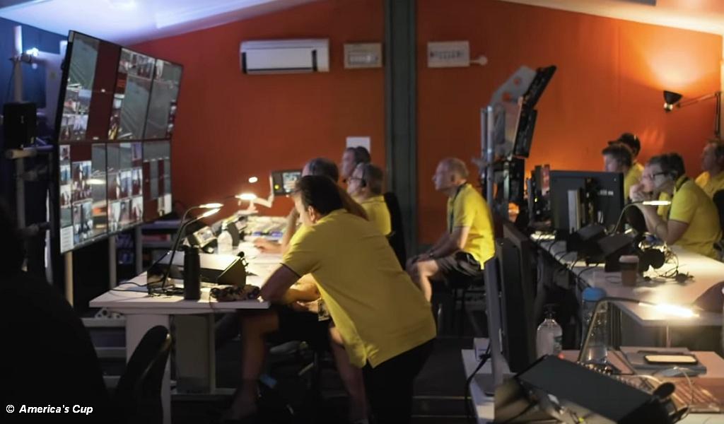 Live broadcast media team