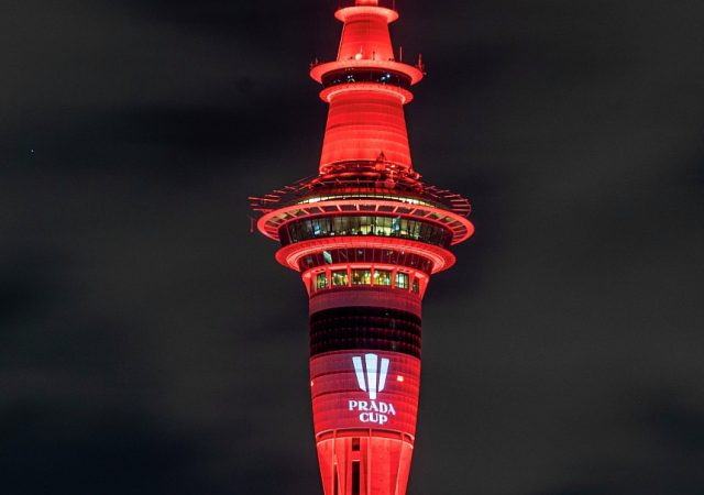 Prada Cup Sky Tower