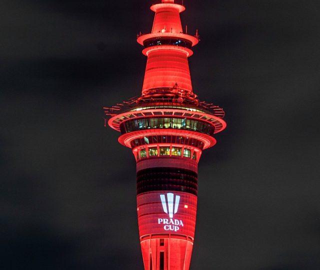 Prada Cup Sky Tower