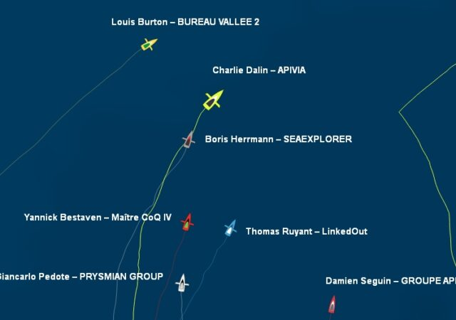 Vendee Globe Positions 22 Jan2021