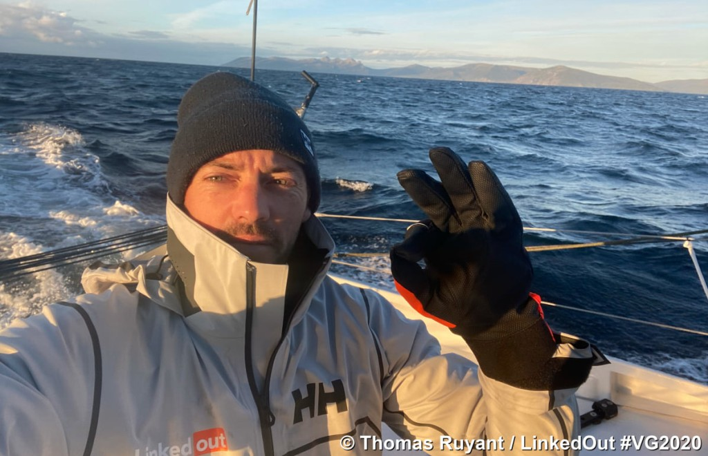 Thomas Ruyant LinkedOut at CapeHorn
