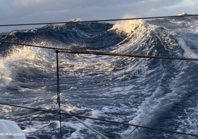 Waves from onboard DMG