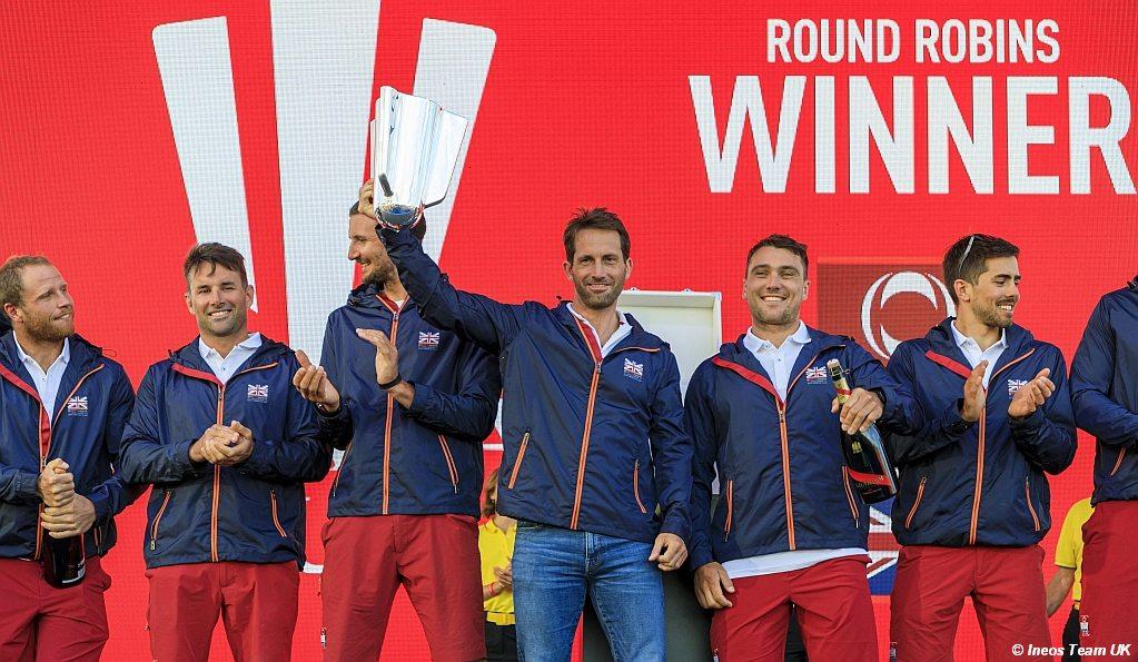 INEOS Team UK - Prada Cup Round Robin Winners