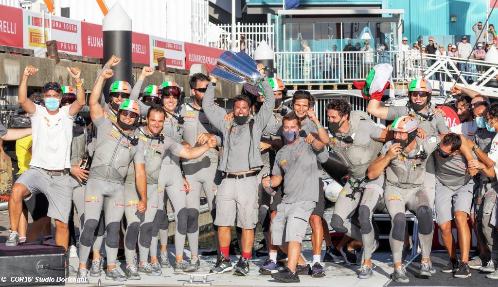 Luna Rossa win Prada Cup Final 2021