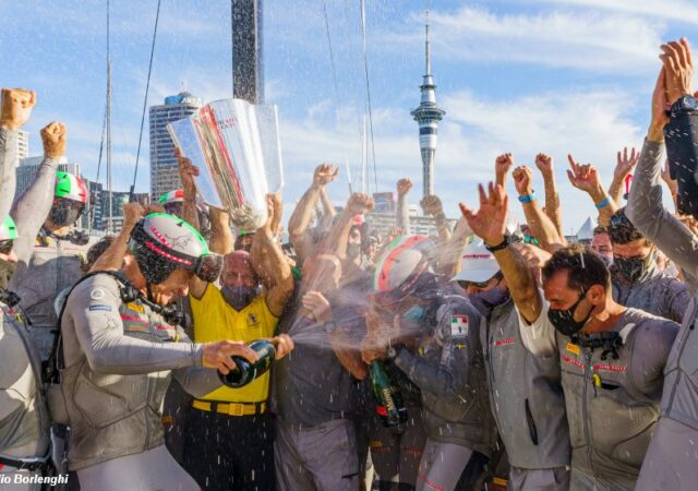 Luna Rossa win Prada Cup Final