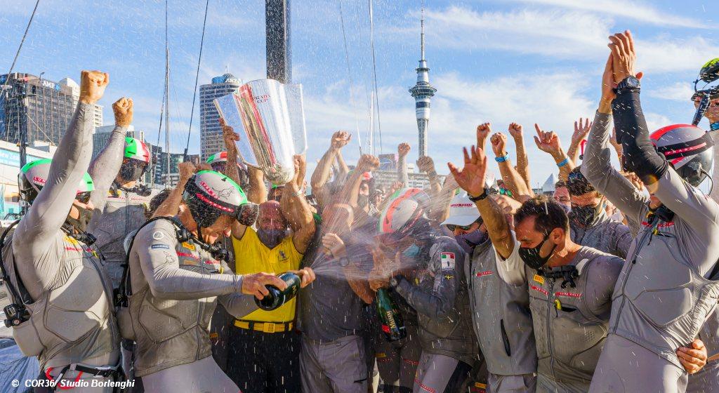 Luna Rossa win Prada Cup Final