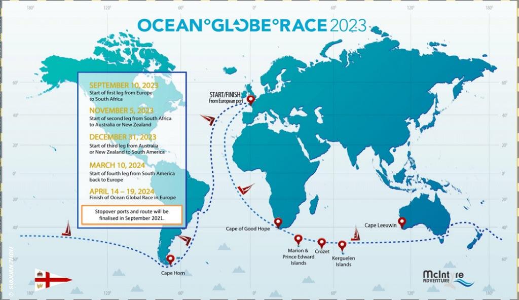 Ocean Globe Race Chart