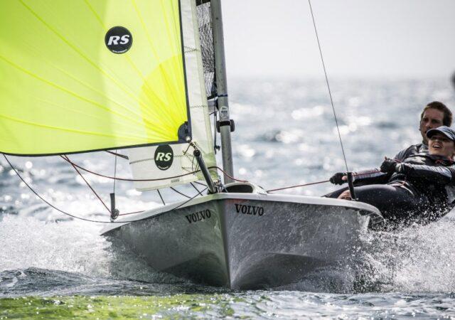 RS200 dinghy