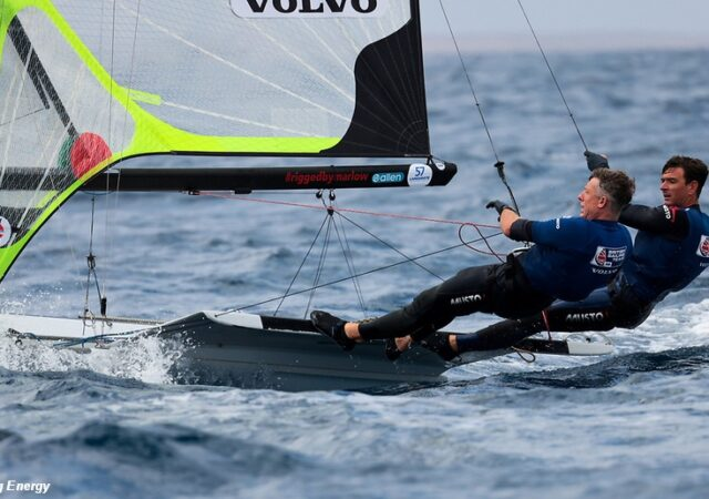 49er Lanzarote Fletcher and Bithell