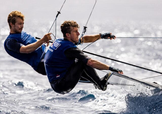 GBR 49er CHRIS TAYLOR and RHOS HAWES