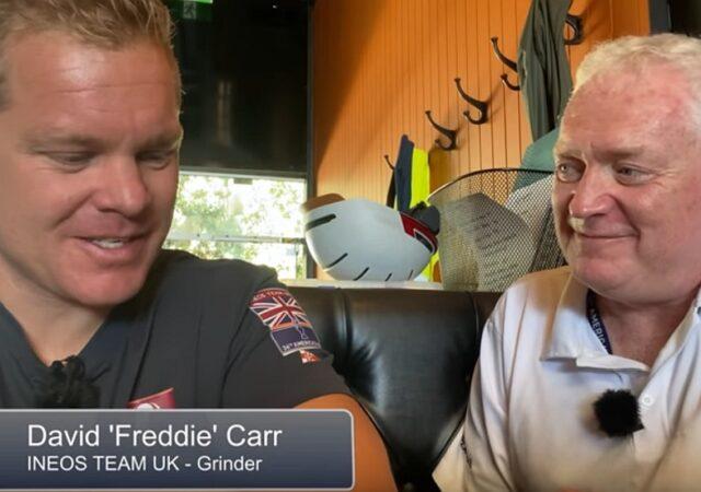 AC36 Matt Sheahan and Freddie Carr