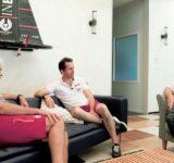 AC36 Grant Simmer, Ben Ainslie, Matt Sheahan
