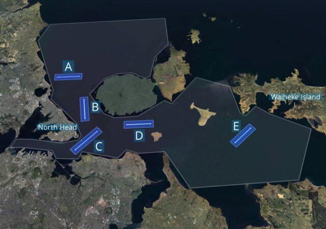 AC36 Race Courses
