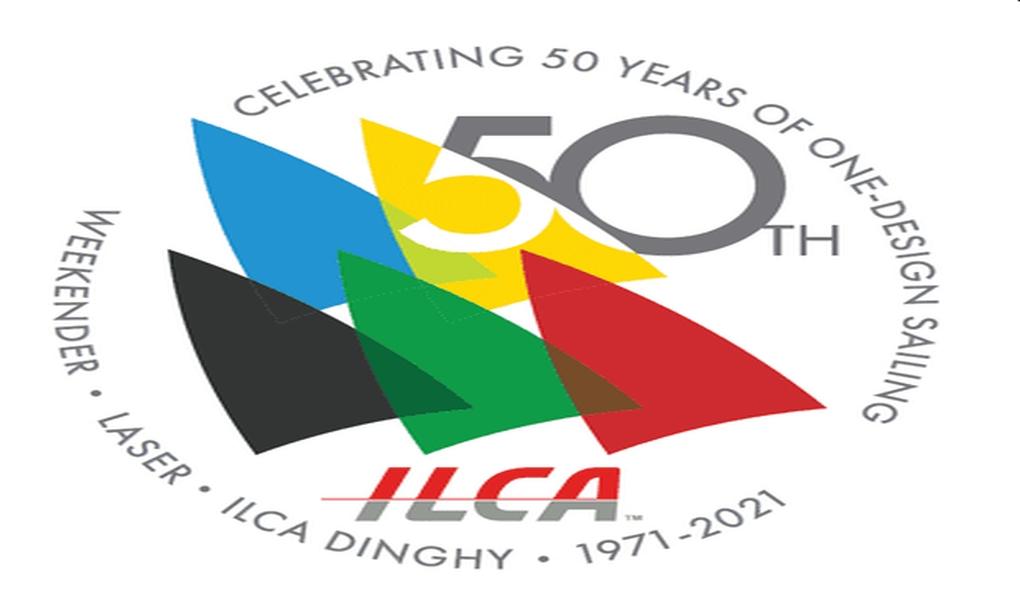 ILCA 50th Logo