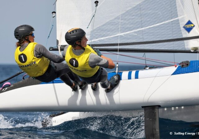 Nacra17 Pacheco and Trittel