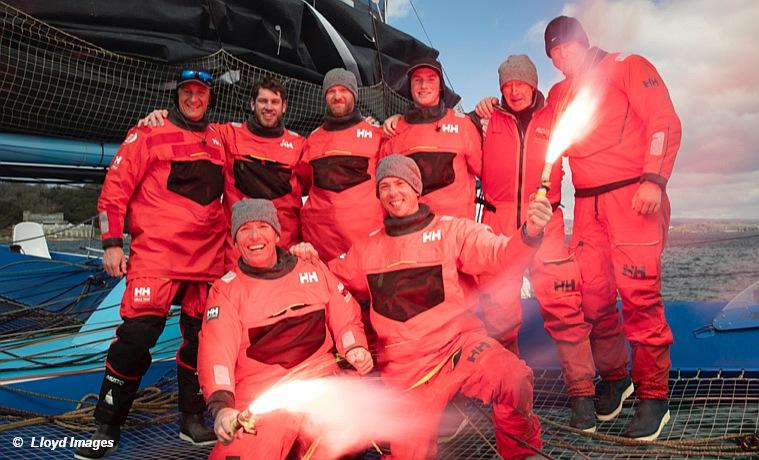 Fastnet Record - Powerplay Crew